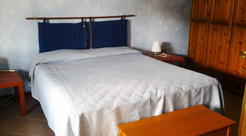 camera letto blu