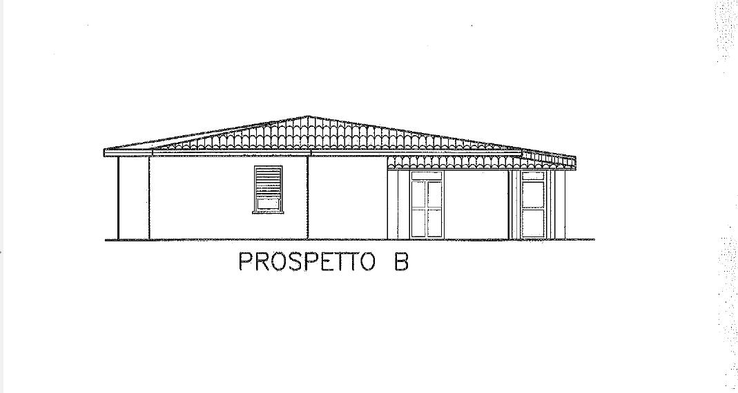 Terreno con progetto approvato casa 160mq Vista mare