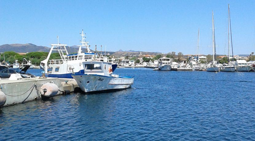 il porto barca e mare
