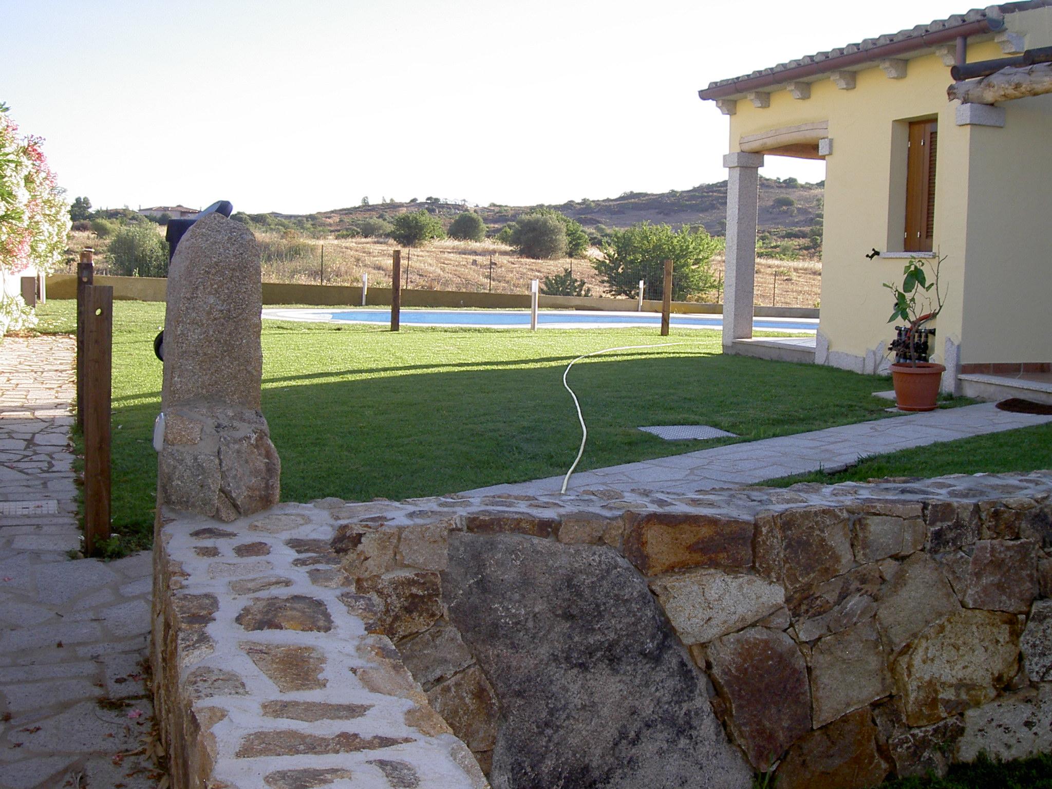 san teodoro villetta a schiera con piscina 2 bagni vista mare nuova costruzione