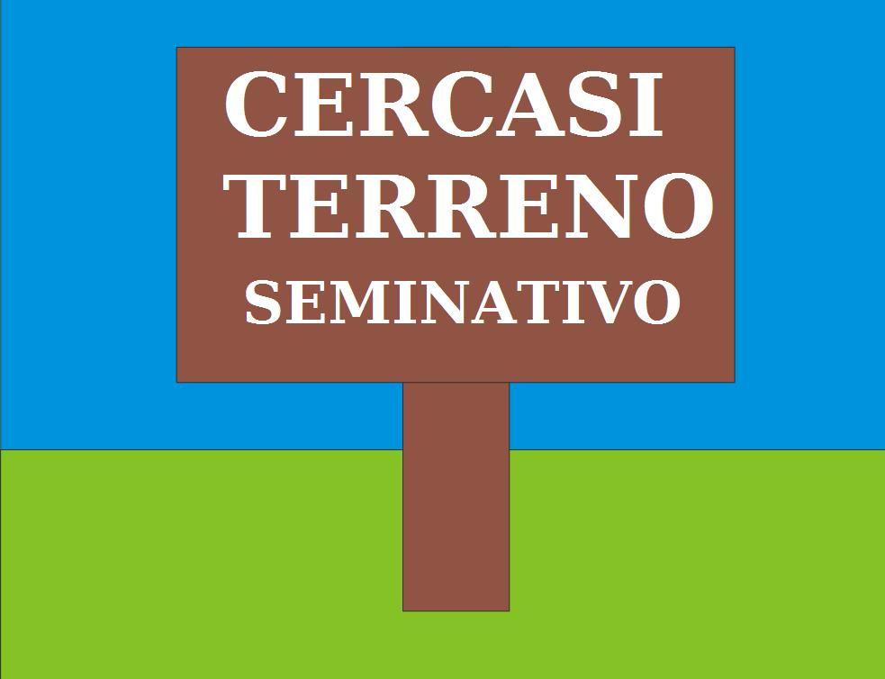 Cerco Terreno Seminativo