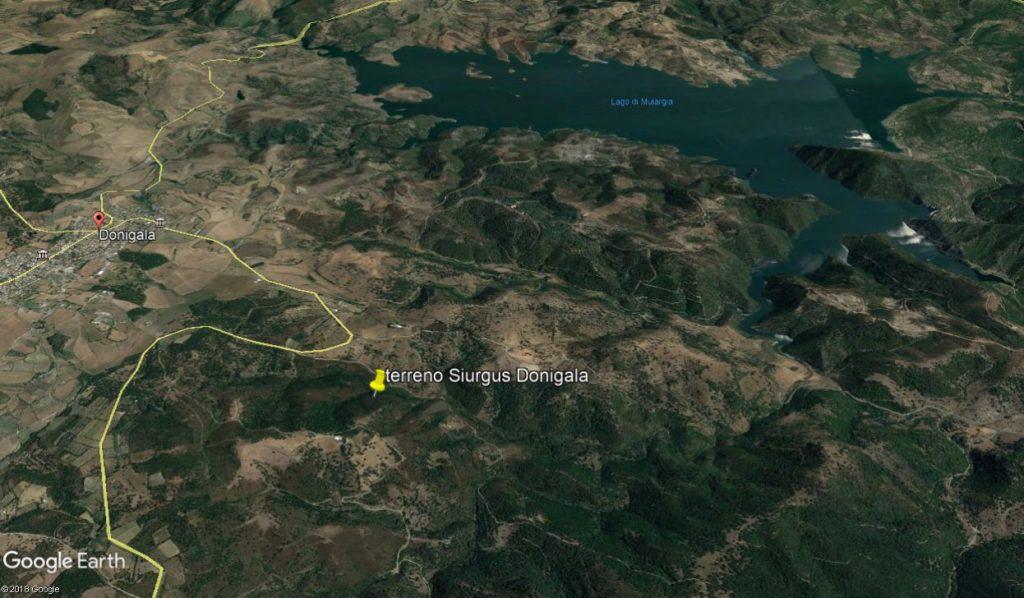 Terreno  Siurgus Donigala sud Sardegna