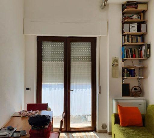 porta finestra verso balcone
